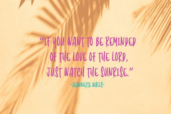 Sunrise Lover Font