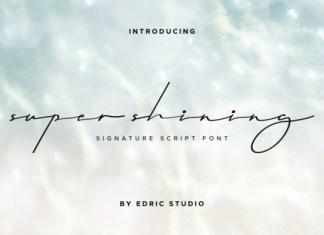 Super Shining Font