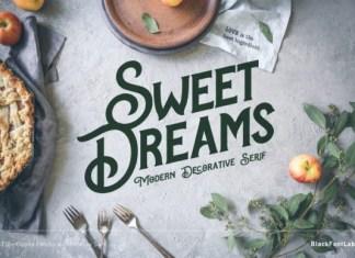 Sweet Dreams Font