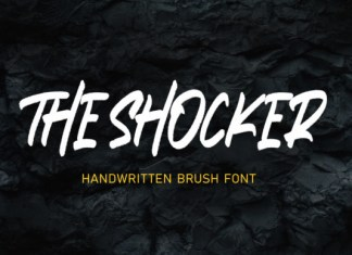 The Shocker Font