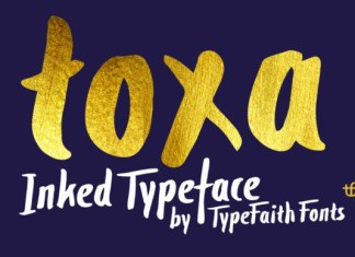 Toxa Font