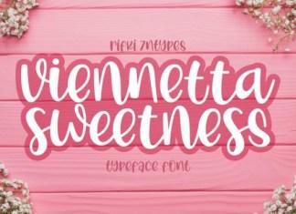 Viennetta Sweetness Font
