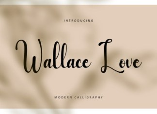 Wallace Love Font