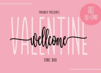 Wellcome Valentine Font