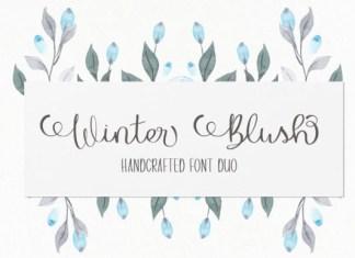 Winter Blush Font