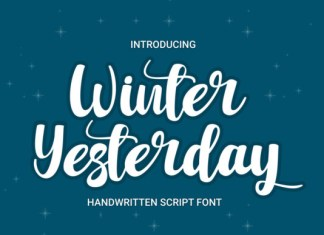 Winter Yesterday Font