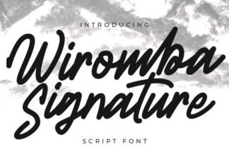 Wiromba Font