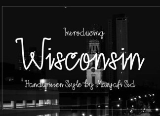Wisconsin Font
