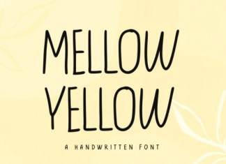 Yellow Mellow Font