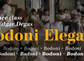 Bodoni Elegant Font