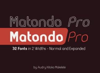 Matondo Pro Font
