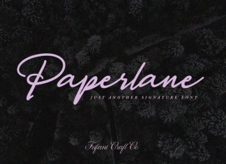 Paperlane Font