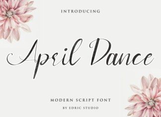 April Dance Font