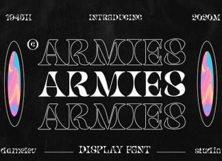 Armies Font