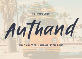 Authand Font