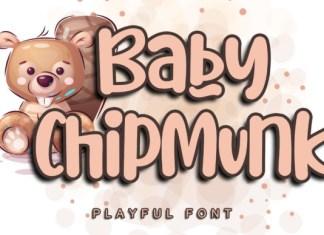 Baby Chipmunk Font