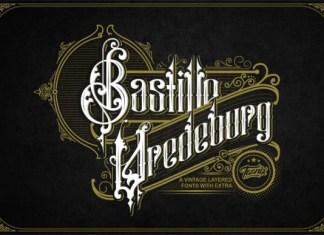Bastille Vredeburg Font