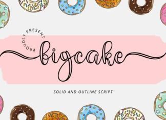 Bigcake Font
