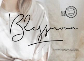Blessmoon Font
