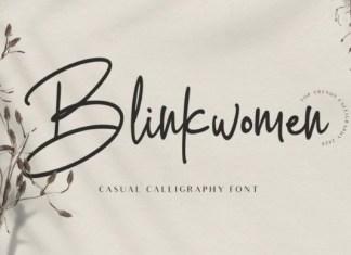 Blinkwomen Font