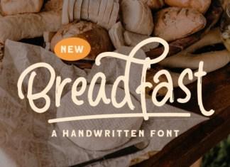 Breadfast Font