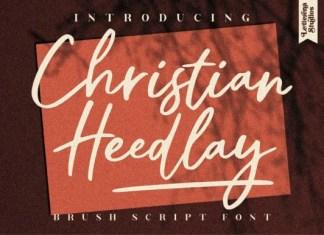 Christian Heedlay Font