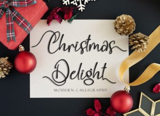 Christmas Delight Font