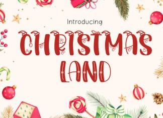 Christmas Land Font