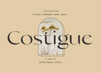 Costigue Font