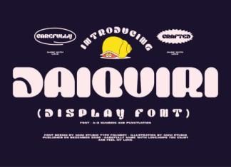 Daiquiri Font