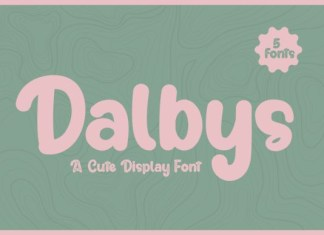 Dalbys Font