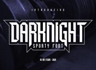Darknight Font