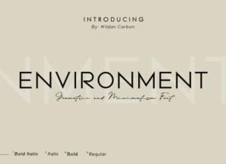 Environment Font