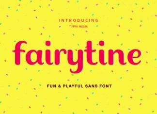 Fairytine Font