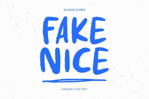 Fake Nice Font