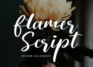 Flamer Script Font