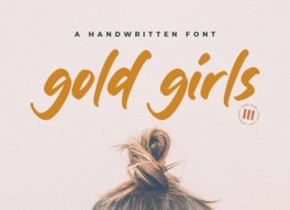 Gold Girls Font