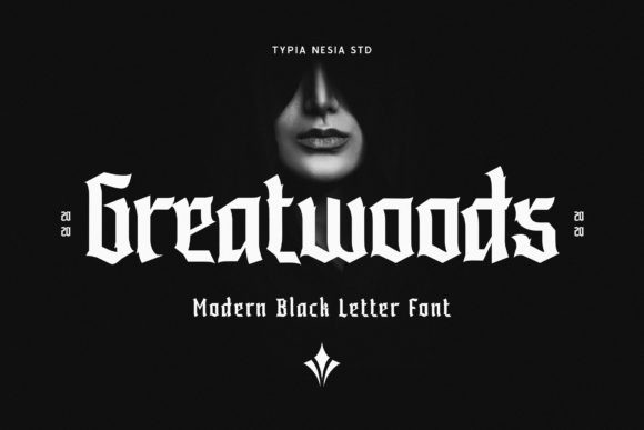 Greatwoods Font