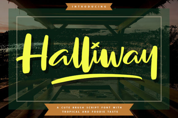 Halliway Font