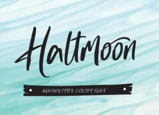 Haltmoon Font