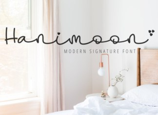 Hanimoon Font