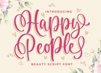 Happy People Font