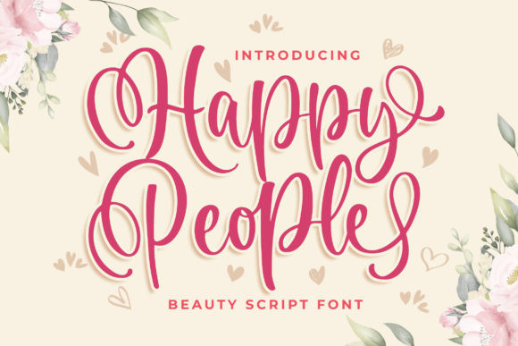 Happy People Font