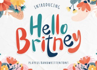 Hello Britney Font