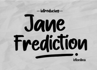 Jane Frediction Font