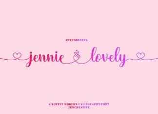 Jennie Lovely Font