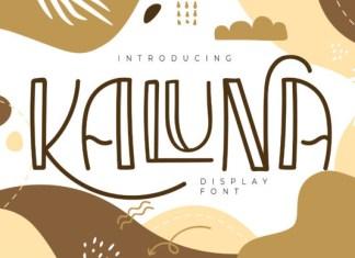 Kaluna Font