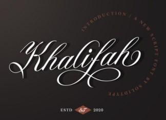 Khalifah Font