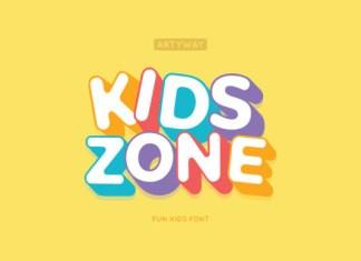 Kids Zone Font
