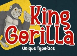 King Gorilla Font